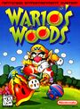 North American box art of Wario's Woods for the Nintendo Entertainment System
