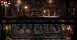 The Waterworks in Luigi's Mansion 3