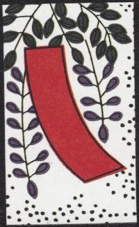 Second card of April in the Club Nintendo Hanafuda deck.