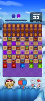 Stage 1013 from Dr. Mario World