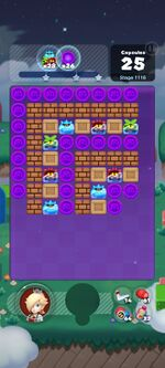 Stage 1116 from Dr. Mario World