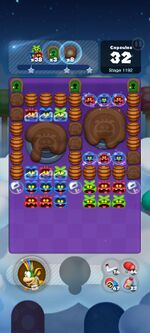 Stage 1192 from Dr. Mario World