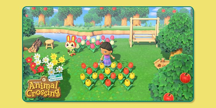 Picture shown with the first question in Fun Nintendo Spring-Themed Trivia Quiz