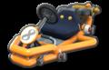 Thumbnail of an orange Pipe Frame (with 8 icon), in Mario Kart 8.