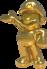 Gold Mario from Mario Kart Tour.