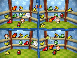 Messy Memory from Mario Party 3.