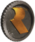 Artwork of the Rareware Coin from Donkey Kong 64.