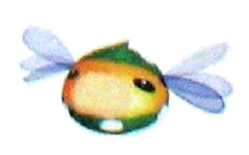 Artwork of the Swipin' Stu enemy in Super Mario Sunshine.