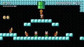 Sub Areas level in Super Mario Maker