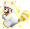 White Tanooki Mario
