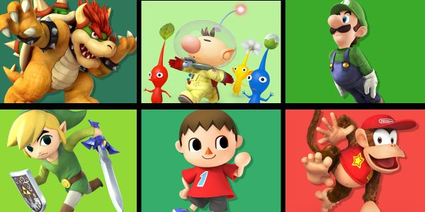 Banner for a Play Nintendo opinion poll on which character from the Super Smash Bros. series could help pull off a prank. Original filename: <tt>2x1-epicprank-poll_V9CivLl.0290fa9874e6c2e6db1c3f61b1e85eb024429302.jpg</tt>