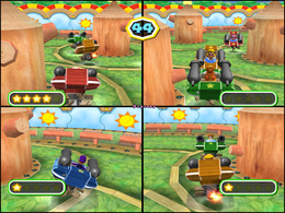 Cannonball Fun from Mario Party 6