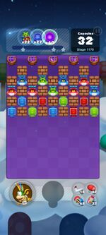 Stage 1170 from Dr. Mario World