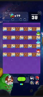 Stage 304 from Dr. Mario World