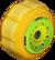 The Sponge_Orange tires from Mario Kart Tour