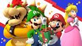 My Nintendo Mario Luigi Happy Holidays wallpaper desktop.jpg