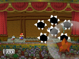 Showstopper in the game Paper Mario: The Thousand-Year Door.
