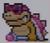 Roy Koopa icon in Super Mario Maker 2 (Super Mario World style)