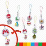 Mario character emblem straps from Super Nintendo World