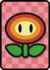 A Big Fire Flower Card in Paper Mario: Color Splash.