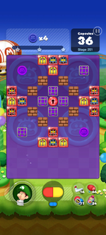 Stage 251 from Dr. Mario World