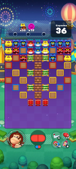 Stage 642 from Dr. Mario World