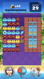 Stage 94 from Dr. Mario World