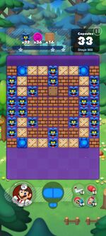 Stage 966 from Dr. Mario World