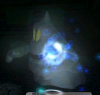 Blue Blaze in the game Luigi's Mansion.