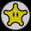 Rosalina emblem from Mario Kart 8