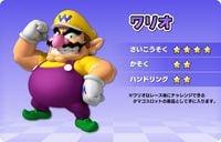 Artwork of Wario, for Mario Kart Arcade GP DX
