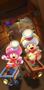 The Exploration Tour from Mario Kart Tour