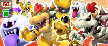 The Bowser's Minions Pipe from the Pirate Tour in Mario Kart Tour