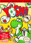 North American box art for Yoshi on the Nintendo Entertainment System