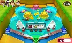Pinball Brawl from Mario Party: Star Rush