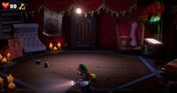 The Stage in Twisted Suites in Luigi's Mansion 3