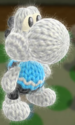 Wii Fit Trainer amiibo Yoshi from Yoshi's Woolly World