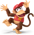 Diddy Kong from Super Smash Bros. Ultimate
