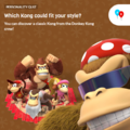 Donkey Kong Country Tropical Freeze Playable Characters Quiz icon.png