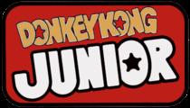 Donkey Kong Jr Logo.png