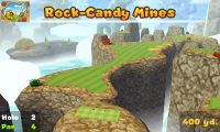 Hole 2 of Rock-Candy Mines (golf course)in Mario Golf: World Tour