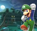 DS Luigi's Mansion from Mario Kart Tour