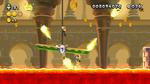 Screenshot of Current Event in New Super Luigi U.