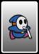 A Blue Slurp Guy card from Paper Mario: Color Splash