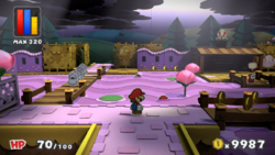 Plum Park from Paper Mario: Color Splash