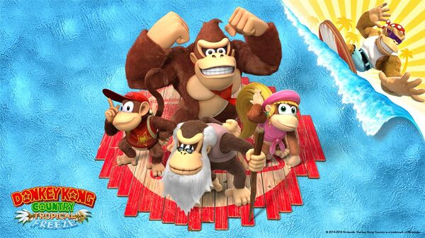Donkey Kong Country: Tropical Freeze wallpaper preview