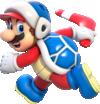 Artwork of Boomerang Mario from Super Mario 3D World.