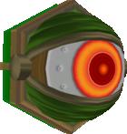 A model of an Eye Beamer from Super Mario Galaxy.