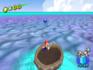 A Blue Coin in Noki Bay in the game Super Mario Sunshine.