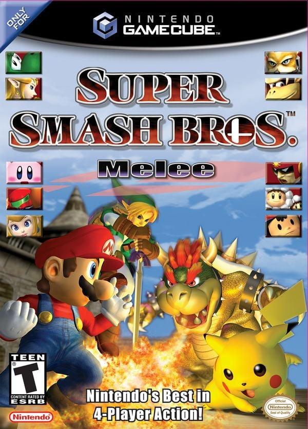 North American box art for Super Smash Bros. Melee